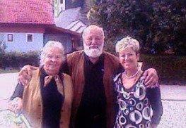 Sepp Forcher mit Sigrid Scherz und Steirerbike