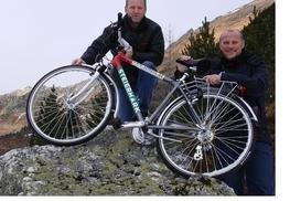 Thomas Schaaf - Werder Bremen Trainer und deutscher Meistermacher testet Steirerbike